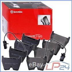 Brembo P85078 Kit Jeu Set Plaquettes Garnitures De Frein Essieu Avant