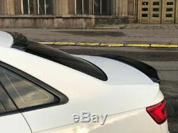 Complet Carbone Diffuseurs Corps Kit / Séparateur Set pour Audi A4 B9 Se 16-20
