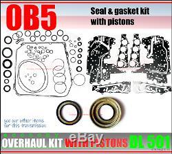 DL501 Révision Kit, Joint et Set, Ohk, 0B5 Boîte de Vitesse, Set avec Pistons