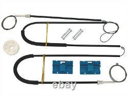 Electrique Leve Vitre Kit De Reparation Avant Gauche 1 Set Pour Audi A6 C5 97-04