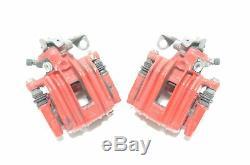 Étrier Kit une Pince de Frein Rouge Arrière 230x9mm Audi A1 Seat Ibiza Skoda