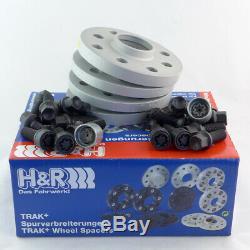 H & R Entretoises de Roue ABE pour A3 A4 A6 A8 Tt 30 / 30mm Kit Sw