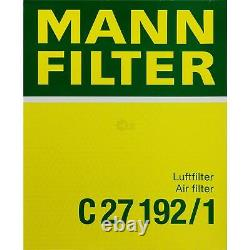 Huile moteur 10L MANNOL 5W-30 Break Ll + Mann-Filter Audi A4 8EC B7 3.0
