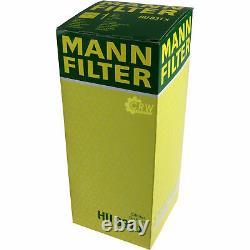 Huile moteur 10L MANNOL 5W-30 Break Ll + Mann-Filter Audi A8 4E 3.0 Tdi Quattro