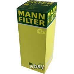 Huile moteur 10L MANNOL Classic 10W-40 + Mann-Filter filtre Audi A8 4E