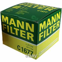 Huile moteur 10L MANNOL Diesel Tdi 5W-30 + Mann-Filter Audi A6 4F2 C6 S6 Quattro
