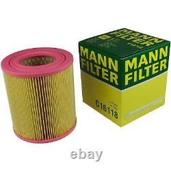 Huile moteur 6L MANNOL 5W-30 Break Ll + Mann-Filter filtre Audi A6 4F2 C6 2.0