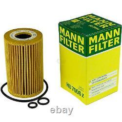 Huile moteur 6L MANNOL 5W-30 Break Ll + Mann-Filter filtre Audi A6 4G2 C7 2.0