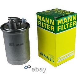 Huile moteur 6L MANNOL 5W-30 Break Ll + Mann Filtre Luft Audi A6 4F2 C6 2.0