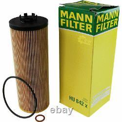 Huile moteur 6L MANNOL Defender 10W-40 + Mann-Filter Audi A8 4D2 4D8 2.5 Tdi