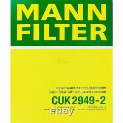 Huile moteur 7L MANNOL 5W-30 Break Ll + Mann-Filter Audi A8 4D2 4D8 3.3 Tdi