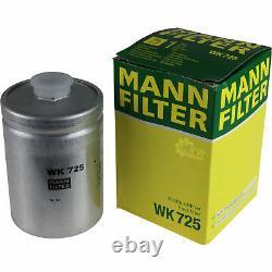 Huile moteur 8L MANNOL 5W-30 Break Ll + Mann-Filter Audi A8 4D2 4D8 4.2 Quattro