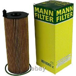 Huile moteur 9L MANNOL Defender 10W-40 + Mann-Filter Audi A6 4F2 C6