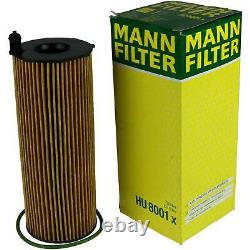 Huile moteur 9L MANNOL Defender 10W-40 + Mann-Filter Audi A8 4E 3.0 Tdi