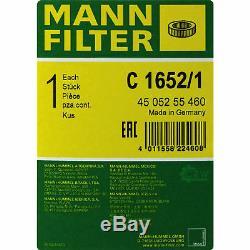 Huile moteur 9L MANNOL Defender 10W-40 + Mann-Filter Audi A8 4E 3.0 Tdi Quattro