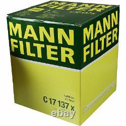 Huile moteur 9L MANNOL Defender 10W-40 + Mann Filtre Luft Audi A6 4F2 C6 2.7