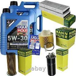 Inspection Set 10 L LIQUI MOLY Lt High Tech 5W-30 + Mann filtre 9833661