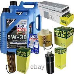 Inspection Set 10 L LIQUI MOLY Lt High Tech 5W-30 + Mann filtre 9840194