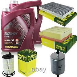 Inspection Set 10 L MANNOL Energy Combi Ll 5W-30 + Mann filtre 10973825