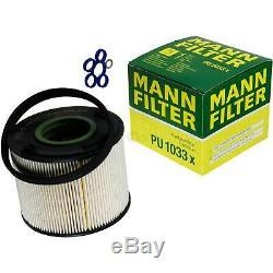Inspection Set 10 L MANNOL Energy Combi Ll 5W-30 + Mann filtre 10973827
