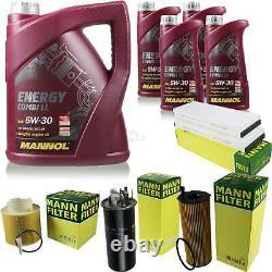 Inspection Set 9 L MANNOL Energy Combi Ll 5W-30 + Mann filtre 10938833