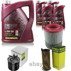 Inspection Set 9 L MANNOL Energy Combi Ll 5W-30 + Mann filtre 10938857