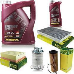 Inspection Set MANNOL 6 L Energy Combi Ll 5W-30 + Mann filtre 10922124