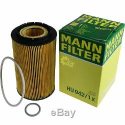 Inspection Set Mann-Filter Filtre Kit 5W30 Longlife Huile Moteur Audi, A8 4D2