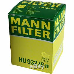 Inspection Set Mann-Filter Filtre Kit 5W30 Longlife Huile Moteur Audi A8 4D2