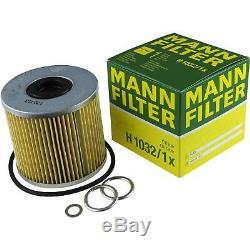 Inspection Set Mann-Filter Kit 5W30 Longlife Huile Moteur pour Audi A8 4D2