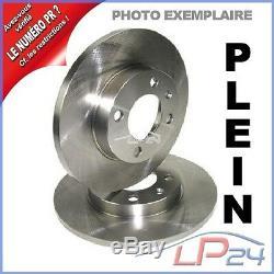 Kit Jeu Set 2 Disques Plein Ø286 + 4 Plaquettes De Frein Arrière 31880218