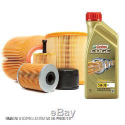 Kit d'entretien set quattro filtres et 5 litres huile Castrol Edge 5W30 KF0024/
