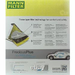 LIQUI MOLY 10 L 5W-30 huile moteur + Mann-Filter Audi A6 Avant 4B C5 4.2 Quattro
