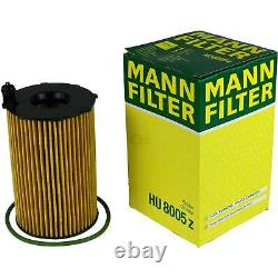 LIQUI MOLY 10L 5W-30 huile moteur + Mann-Filter filtre Audi A6 Toute Route 4GH