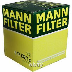 LIQUI MOLY 10L 5W-40 Huile + Mann-Filter pour Audi A6 Avant 4F5 C6 4.2 FSI
