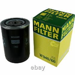 LIQUI MOLY 5L 5W-30 Huile + Mann-Filter pour Audi A4 Avant 8ED B7 8E5 B6