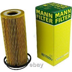 LIQUI MOLY 7L Toptec 4200 5W-30 huile moteur Mann-Filter Set pour Audi A6 4F2 C6
