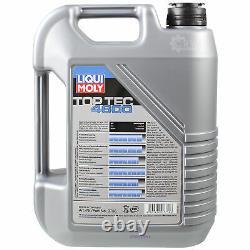 Liqui Moly 5L Toptec 4600 5W-30 Huile + Mann-Filter pour Audi A4 Avant 8ED B7
