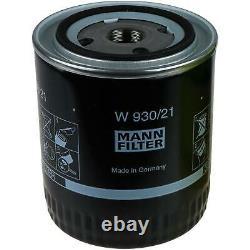 Liqui Moly 7L Toptec 4600 5W-40 huile moteur Mann-Filter Set pour Audi A8 4D2