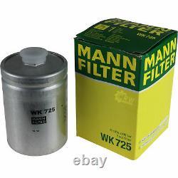 Liqui Moly 8L Toptec 4600 5W-40 huile moteur + Mann-Filter Set pour Audi A8 4D2