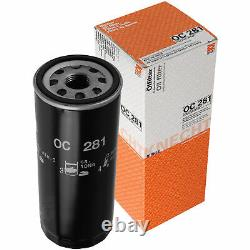 MAHLE Filtre pour Carburant Kl 36 Intérieur Lak 46 Air LX 469/1 à Huile Oc 281