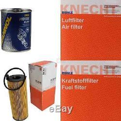 MAHLE / KNECHT Set D'Inspection Ensemble de Filtres SCT Lavage moteur 11609872