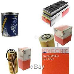 MAHLE / KNECHT Set D'Inspection Ensemble de Filtres SCT Lavage moteur 11616331