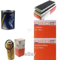 MAHLE / KNECHT Set D'Inspection Ensemble de Filtres SCT Lavage moteur 11616501