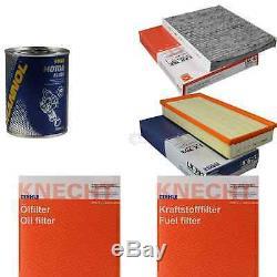 MAHLE / KNECHT Set D'Inspection Ensemble de Filtres SCT Lavage moteur 11616531