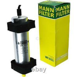 MANN-FILTER Set Air Intérieur Huile Carburant Audi Q5 8R 2.0