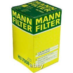 MANN-FILTER Set Air Intérieur Huile Carburant Audi Q5 8R 2.0 Tdi