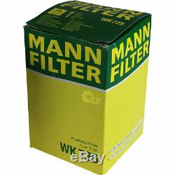 MANN-FILTER Set Audi A8 4D2 4D8 4.2 Quattro 3.7 S8 10224658
