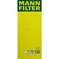 MANN-FILTER Set à Air Intérieur Huile Carburant Audi Q5 8R 2.0 Tdi
