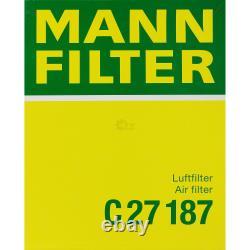 MANNOL 10 L Energy Premium 5W-30 + Mann- Filtre Audi A4 Cabriolet RS4 Quatro